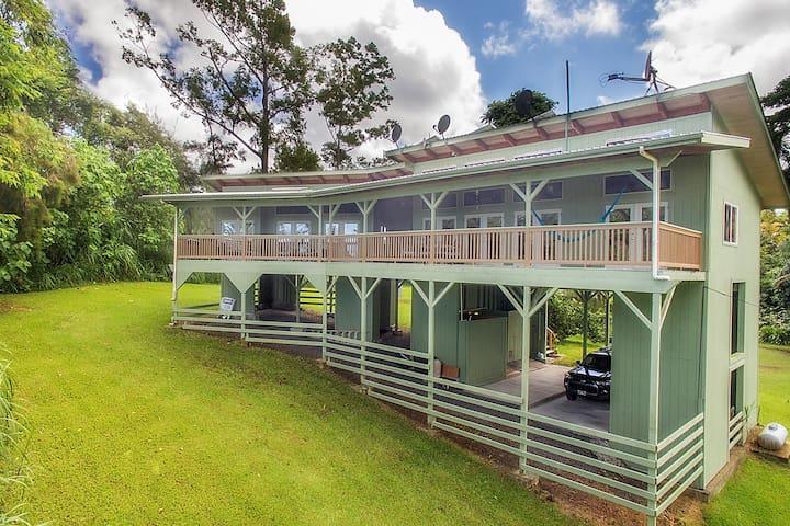 KAPOHO ACRES ~ OFF-GRID LIVING IN STYLE! - Pāhoa - Dům