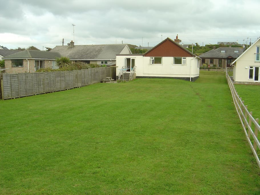 Back garden which all 3 bedrooms look out over