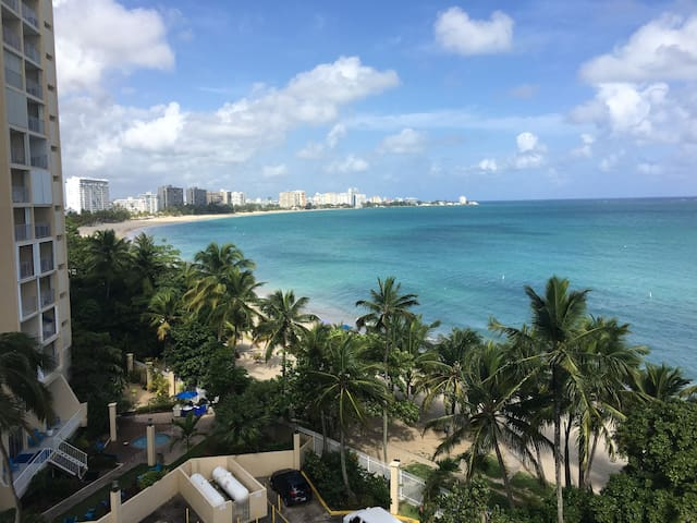 As seen on HGTV! Isla Verde 1 bedroom Ocean Front!