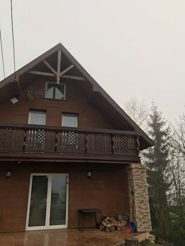 Rodzinny domek w Zawoi  (Wełczy)