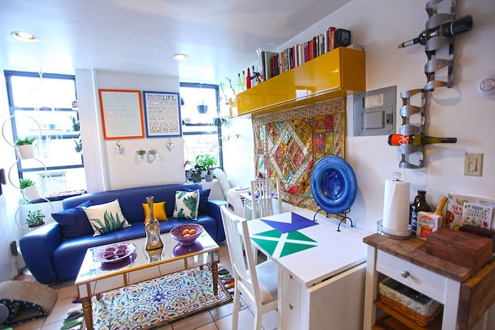 Charming home in Manhattan's most iconic street!
