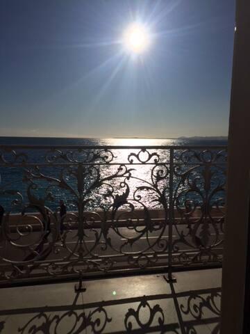 Best sea view in Nice.
