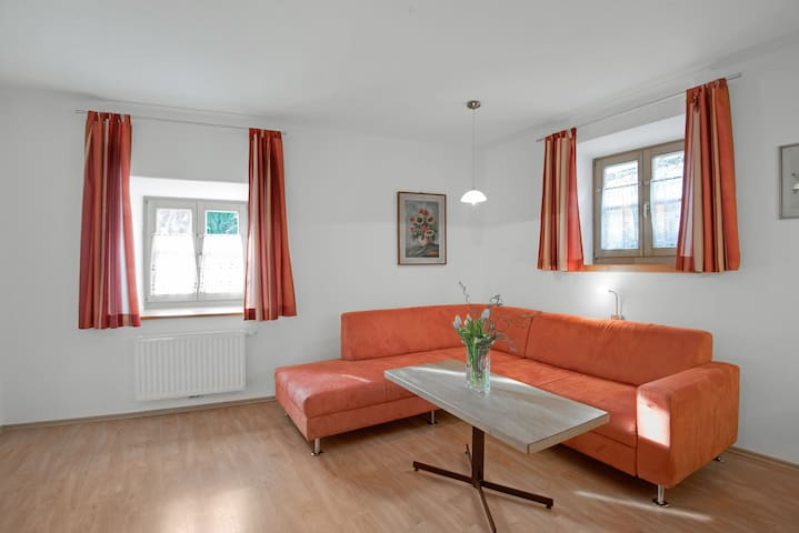 """Holiday Apartment """"Rafaser - Apartment Albina"""" with Mountain View, Wi-Fi, Balcony & Garden; Pets Allowed"""