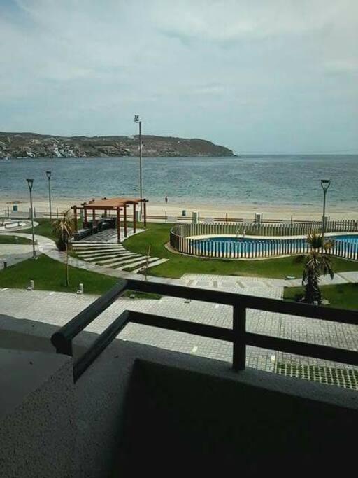 Balcón vista Piscina
