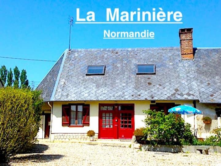 La Marinière, à 3 KM de Veules les Roses.