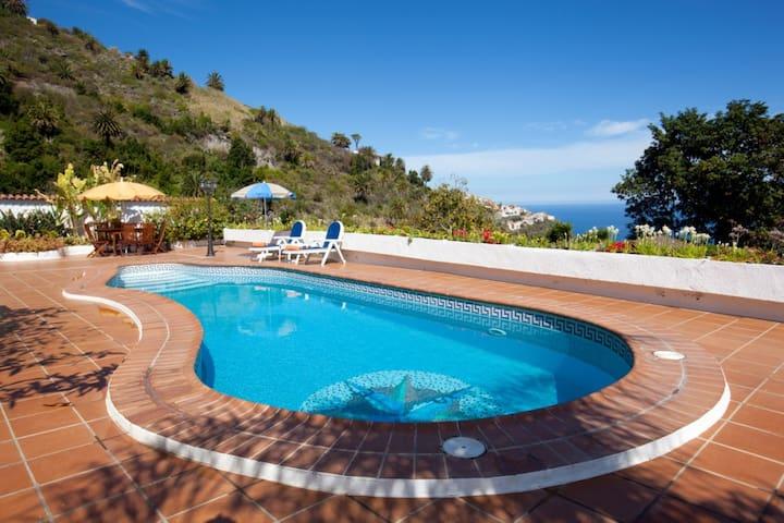 Casa el Canario, Pool, BBQ, Nature and Relax !!! - Icod de los Vinos - Haus
