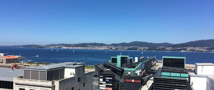 Apartamento con vistas en Vigo