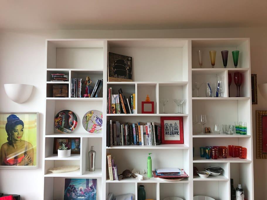 Books to enjoy and return...