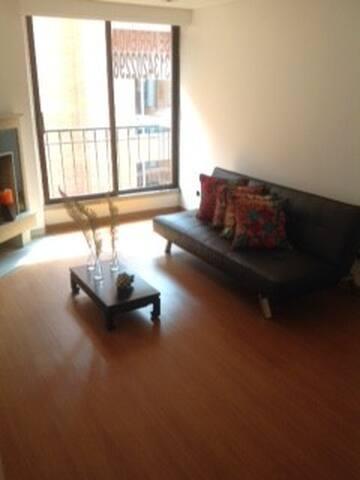 STA BARBARA, EXCELENT APARTMENT!!!! 3 GUESTS!!!! - Bogotá - Apartment