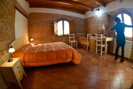 Camera tripla con bagno privato-Le terre di zoè - Provincia di Vibo Valentia