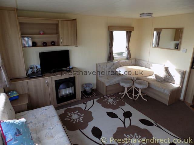 Haven  Presthaven Sands Deluxe Plus caravan Wifi