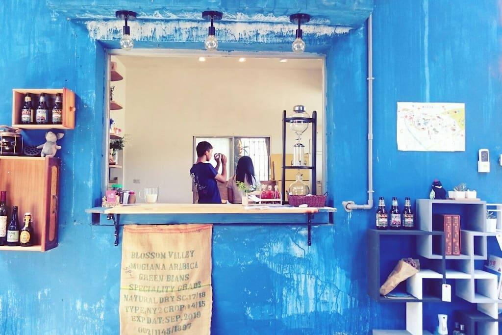 一樓下午茶空間