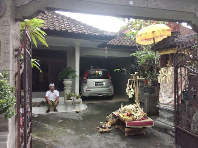 Erdis' house - Denpasar Utara - Casa