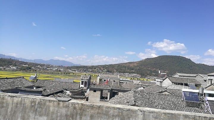 古镇复式观景小楼