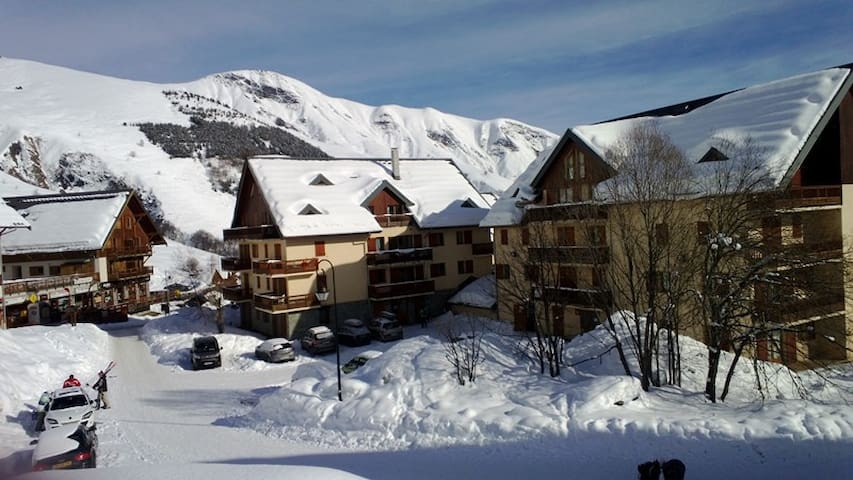 Nice apartment at the foot of the slopes 7 people