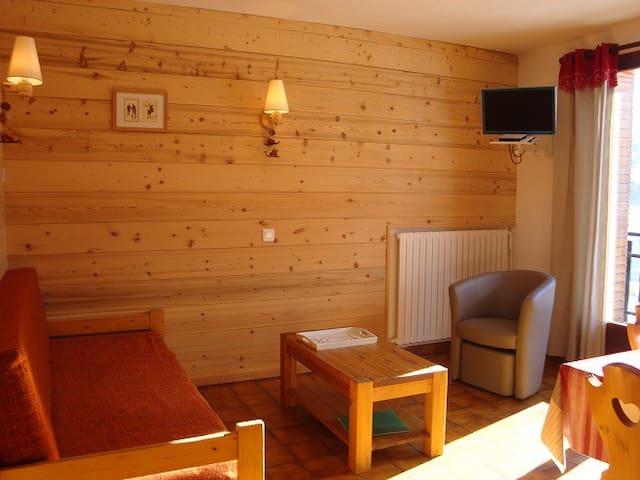 Appt 43 m2 pour 4/6 personnes St Sorlin d'Arves