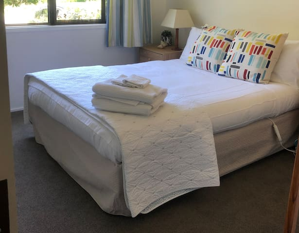 Bedroom 2 has a comfortable double bed