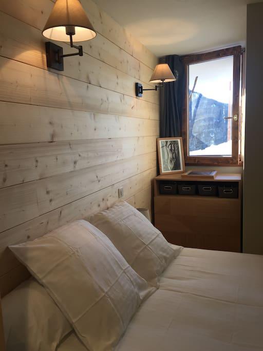 Chambre double avec sa douche privative