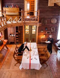 Big histocial logg/timber house.  (Vikingroots )