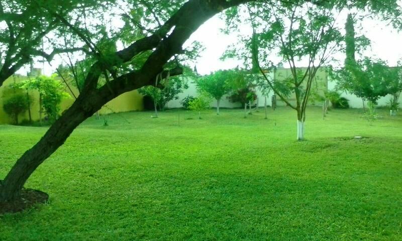 QUINTA VERDE(Sin Habitaciones) con alberca,palapa - Portal del Norte - Villa