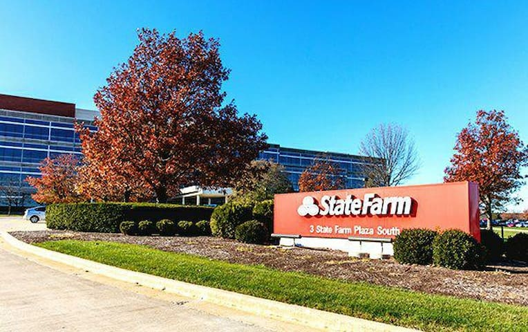 Cozy Suite for 2 Minutes From State Farm South#2