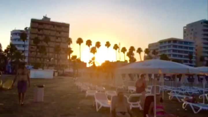 Larnaca Beach Apartments 107 (modern studio flat )