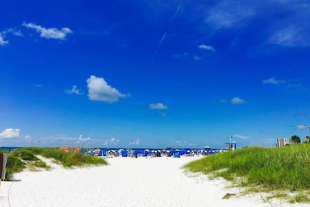 Affordable Efficiency in the Heart of Clearwater Beach #211 - Best Rate on the Beach!