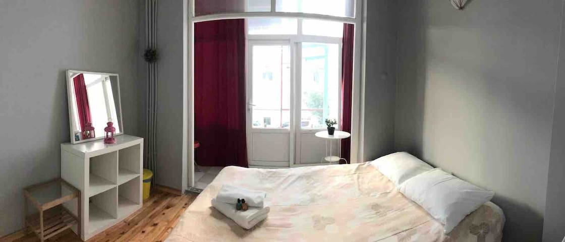 The beautiful double suite room in TAKSIM