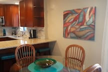 Combined kitchen/dining