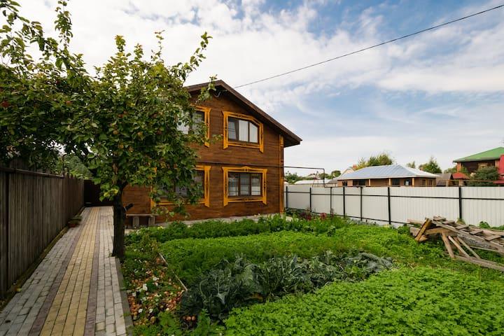 Дом с баней на Кремлёвском берегу - Суздаль - Casa