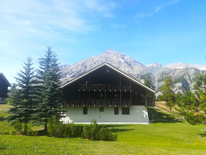 Warm and Bright house in the middle of the Alpes