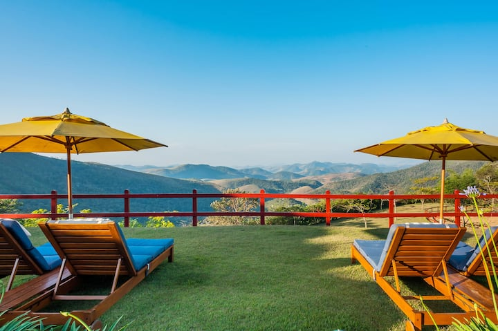 Escape in peace and luxury on a mountain reserve