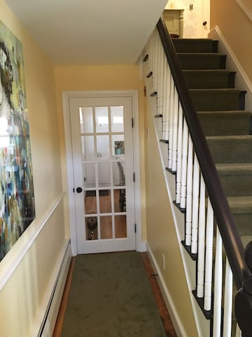 1900 house hallway
