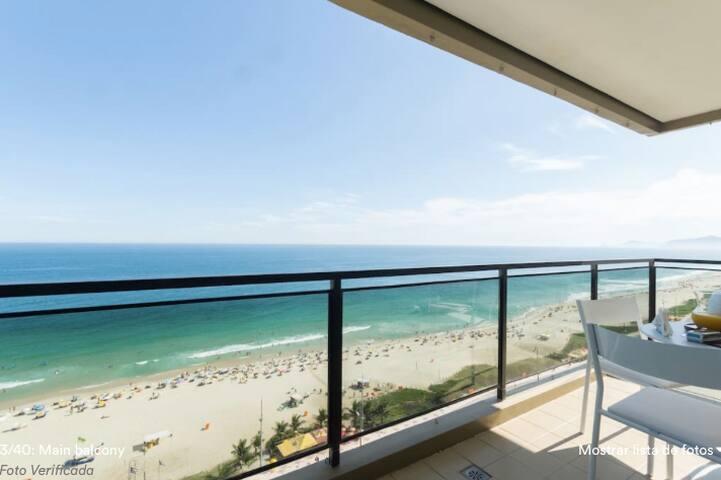 Apartament 1 main balcony