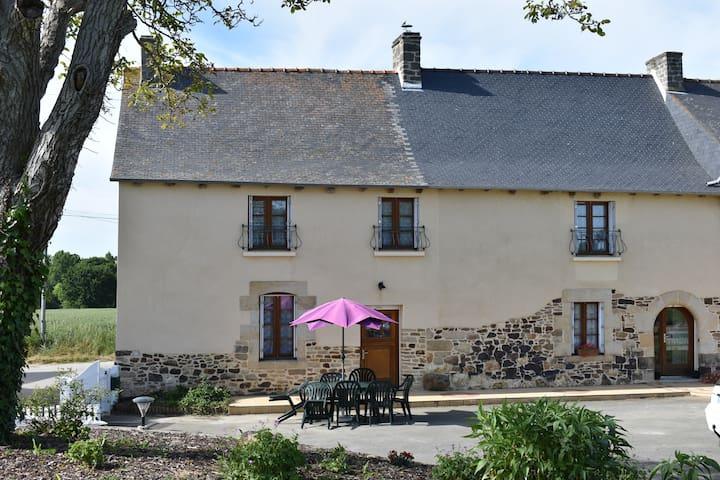 Gîte rural à la ferme, en Bretagne (6pers.)