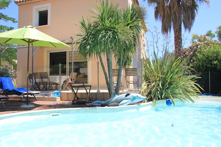 Villa du Sud 4 chambres & piscine
