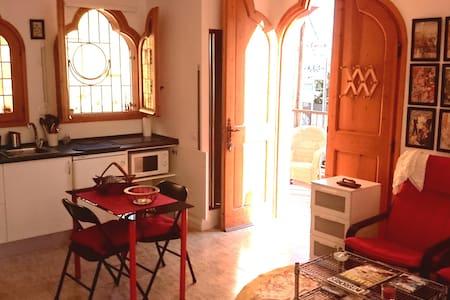 Mini apartment with terrace garden - Barcelona - Apartment