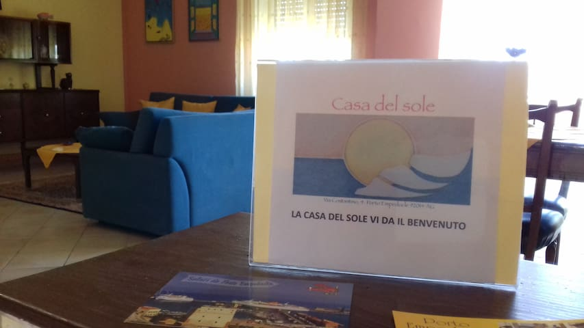 La casa del sole #ScaladeiturchiTempliSole&Mare#