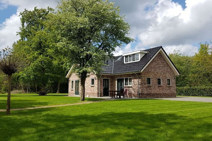 Comfortable Holiday home in Lieveren Drenthe with terrace