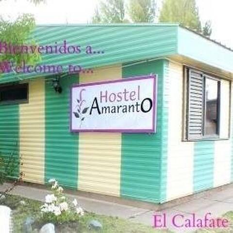 hostel amaranto ElCalafate
