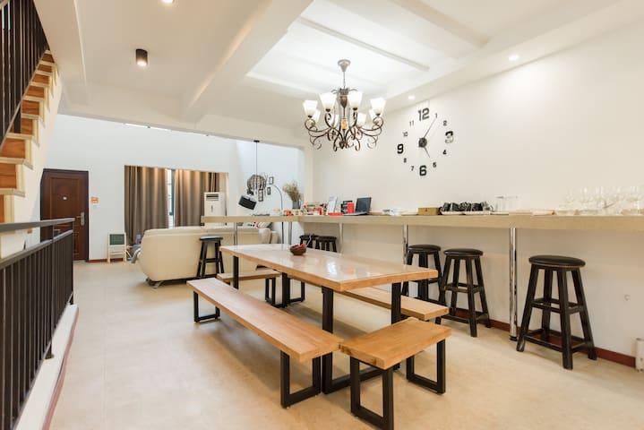 海语小墅壹号-碧海金沙轰趴大别墅 - Shanghai - Villa