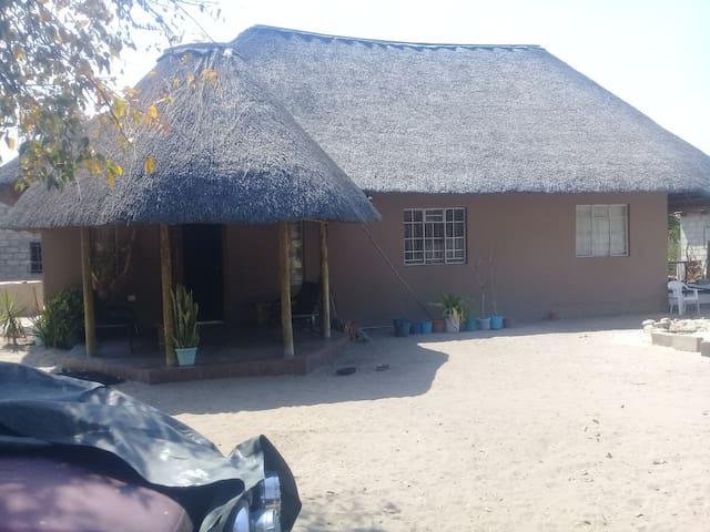 Tourism  hub ,Getway to okavago delta.