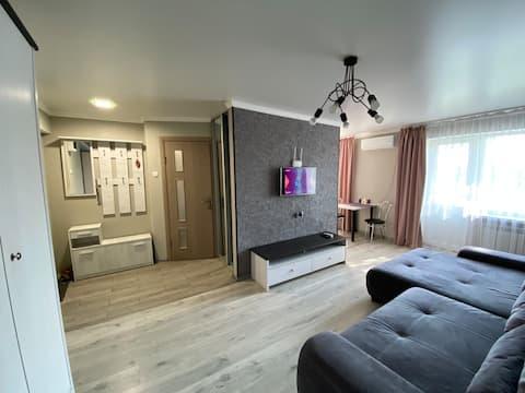 Квартира-студия в центре по проспекту Мира 84