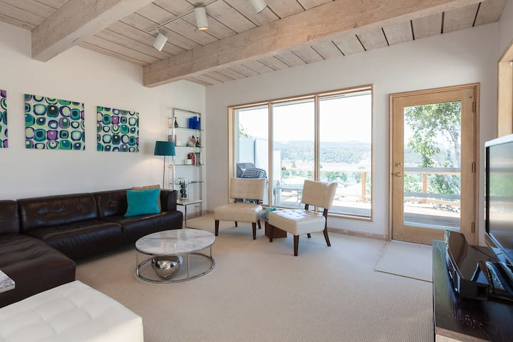 Riverdell- Great views of the Columbia Gorge and White Salmon river, A/C, Garage