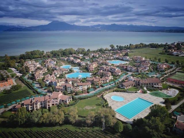 Apartment in Garda Resort Village...amazing family holiday resort with big swimming pools