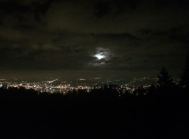 Nighttime view!