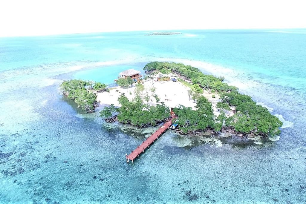 ALL INCLUSIVE PRIVATE ISLAND RENTAL WITH BOAT