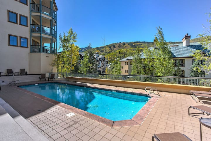 You'll relish resort-style amenities such as the heated community pool.
