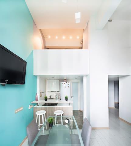 Wonderful loft!