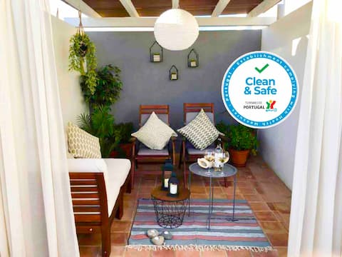 My Tavira Traditional Townhouse with Terraces